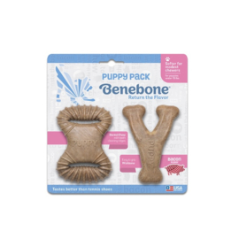 Benebone Puppy 2 pack Bacon