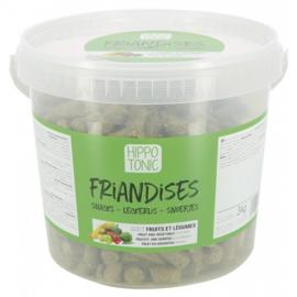 HippoTonic Friandises groenten en fruit 3kg