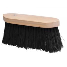 Borstel lange haren zwart