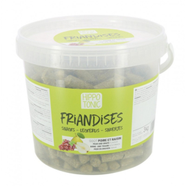 HippoTonic Friandises druif en peer 3kg
