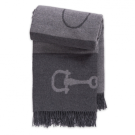 Adamsbro Cashmere wool throw grey