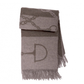 Adamsbro Cashmere Wool Throw Camel