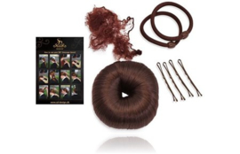 SD Dressage donut set with guide in Dark Brown. H-100