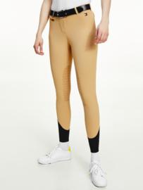 Tommy Hilfiger Equestrian Breeches Knee Grip Classic Khaki