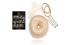 SD Dressage donut set with guide in Platin Blond. H-100