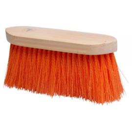 Borstel lange haren oranje