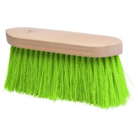 Borstel lange haren groen