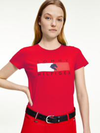 Tommy Hilfiger T-shirt Primary Red