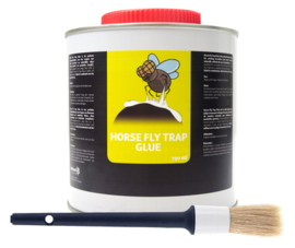 Horse fly trap glue