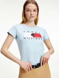 Tommy Hilfiger T-shirt Breezy Blue