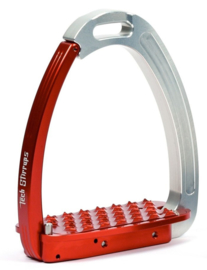 Tech Stirrups Venice zilver rood young kids