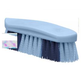 Harde borstel blauw