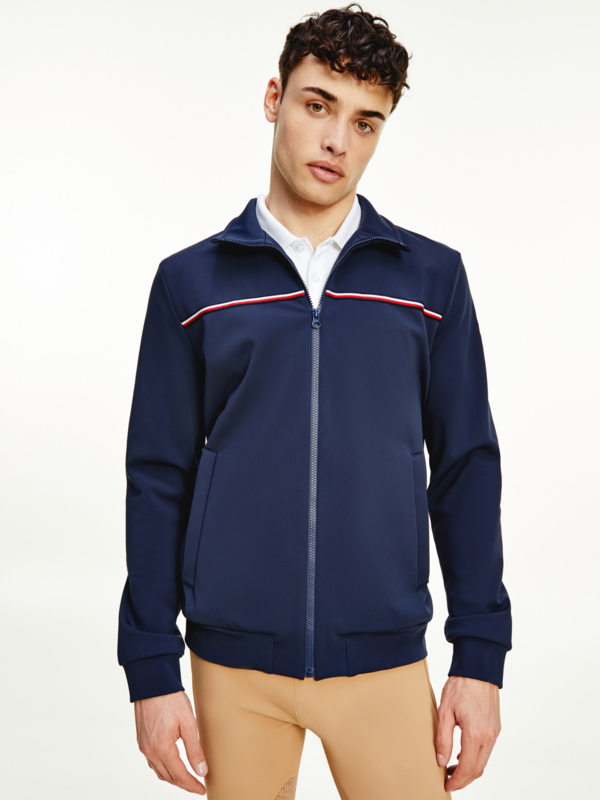Tommy Hilfiger Training Jacket Desert Sky HEREN