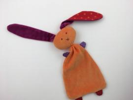 Tuttelkonijn oranje paars