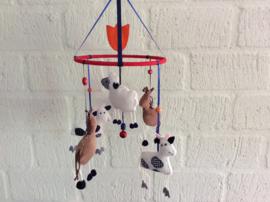 Paard, koe, schaap