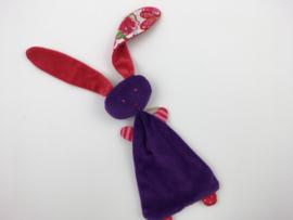 Tuttelkonijn paars rood