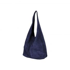 Baggy bag donker blauw