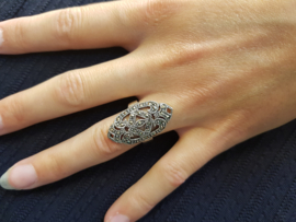 Ring Boho Old Silver
