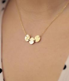 Zag Bijoux ketting Cardin goud