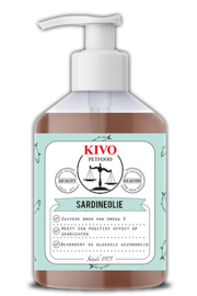 Sardine olie pure wildvang ( 500 ml)