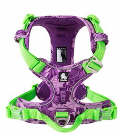 Active Harness Upgraded versie  Limited edition  paars/lime - Maat M