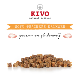 Soft trainer kalkoen  100 gram