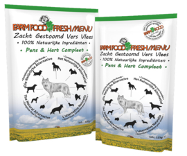 Farm Food Fresh Menu Pens Hart compleet 300 gram