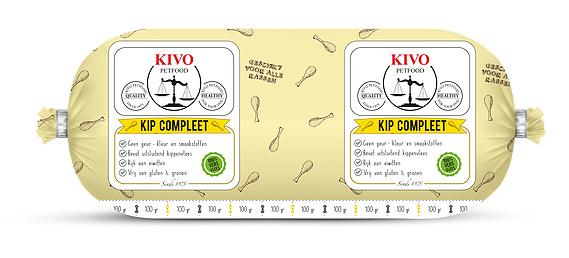 Kivo Compleet Kip (500 grams rol)