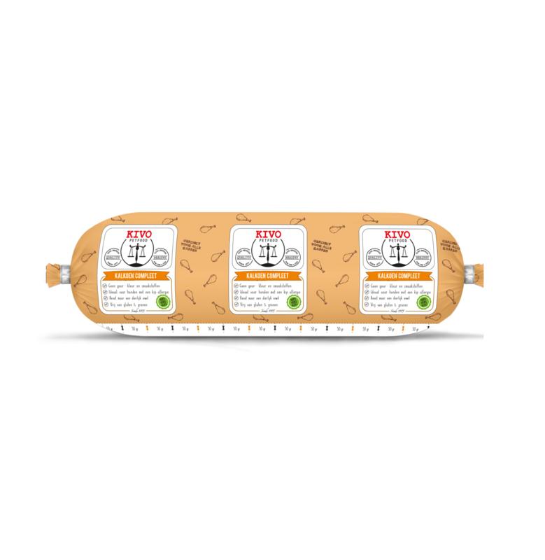 Kivo Compleet Kalkoen (500 grams rol)