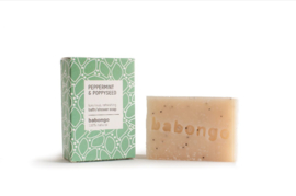 5 x Babongo bath soap Peppermint & Poppyseed