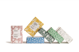 5 x Babongo facial soap Charcoal & Pine