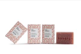 Babongo bath/shower soap Rose Geranium