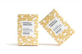 5 x Babongo bath soap Patchouli & Sandalwood