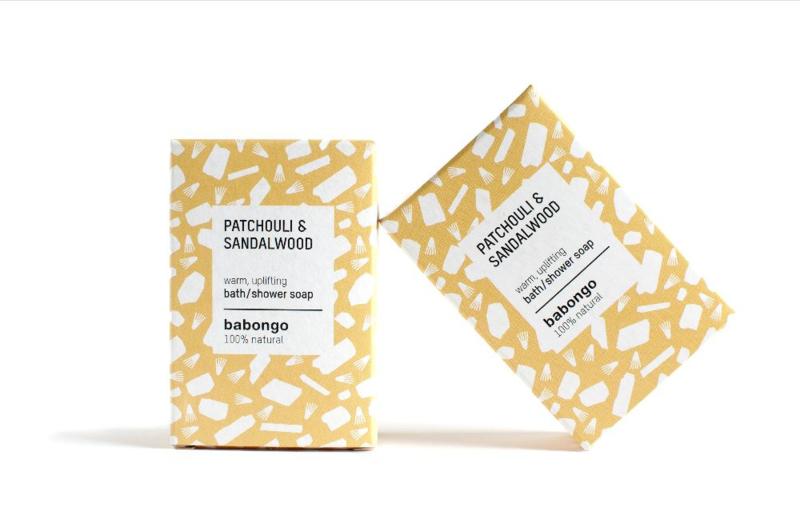Babongo bath soap Patchouli & Sandalwood