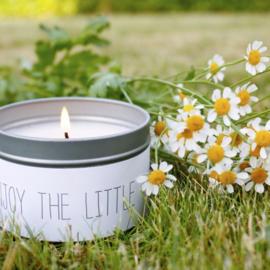 Soja Kaars - Enjoy the little things