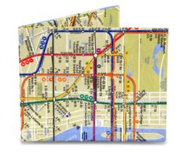 MIGHTY WALLET| NYC Subway Map