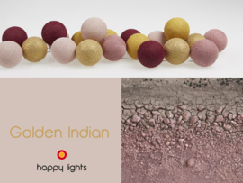 HAPPYLIGHTS FAVORIET | Golden Indian