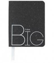 Notitieboekje A7 van echt leer 'think big'
