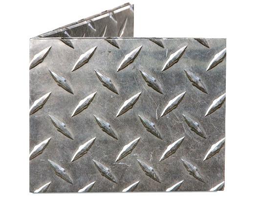 MIGHTY WALLET| Diamond Plate