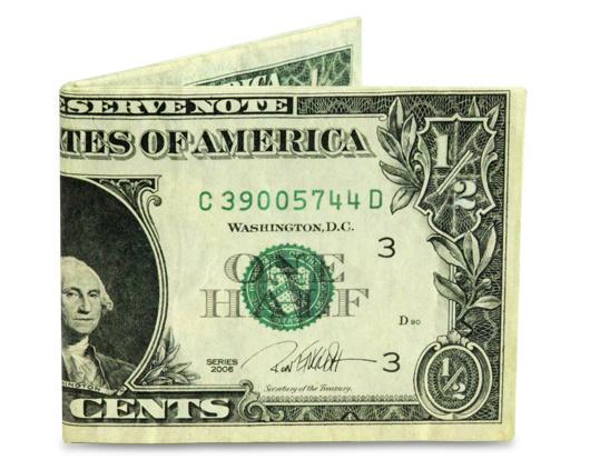 MIGHTY WALLET| Half Dollar