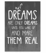 JOTS WENSKAART | 'Dreams are only dreams...'