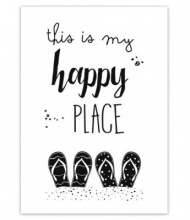 JOTS WENSKAART    'This is my happy place'