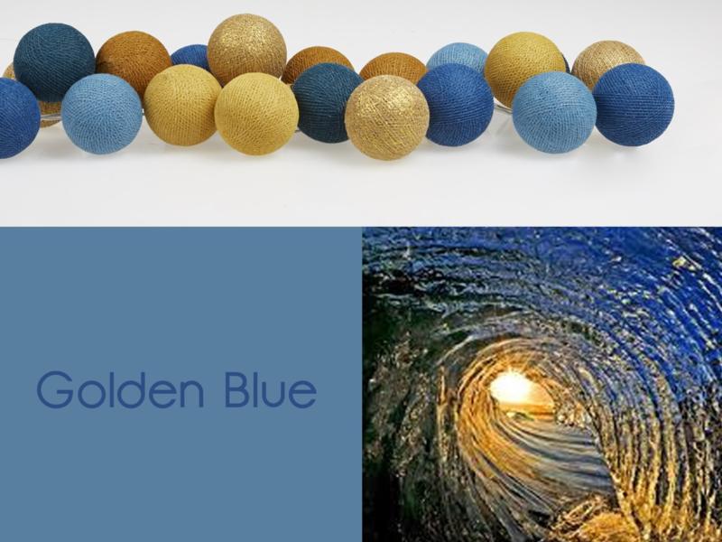 HAPPYLIGHTS FAVORIET   Golden Blue