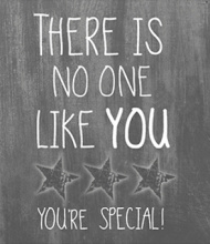 JOTS WENSKAART |There is no one like you...