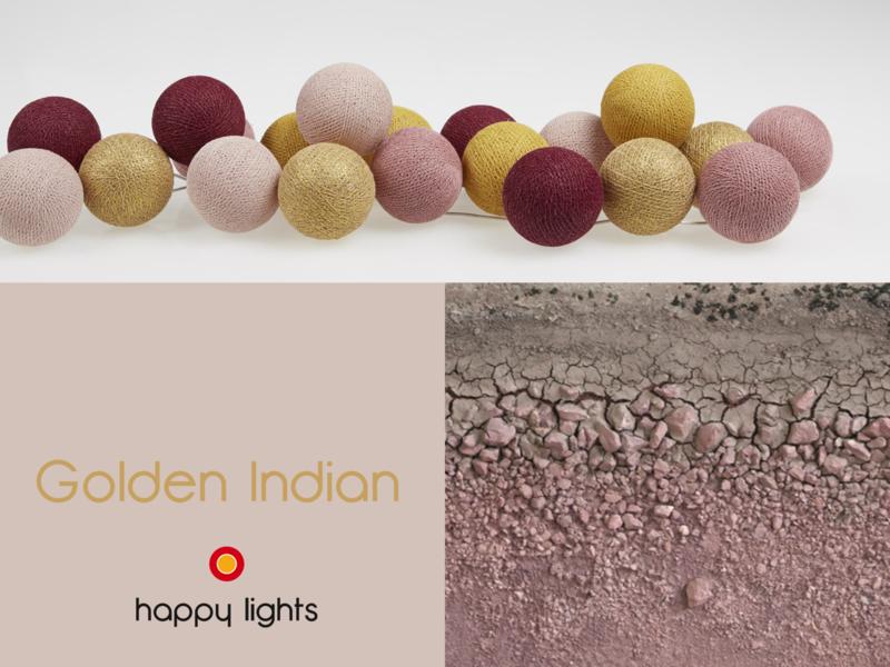 HAPPYLIGHTS FAVORIET   Golden Indian