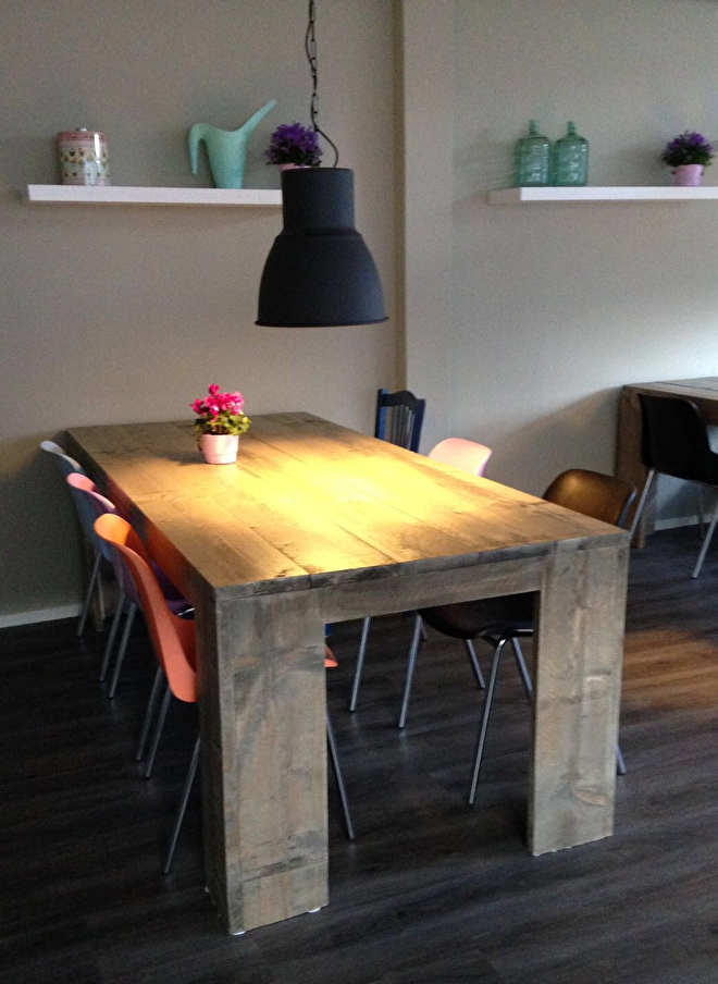 steigerhouten meubels op maat gemaakt friesland