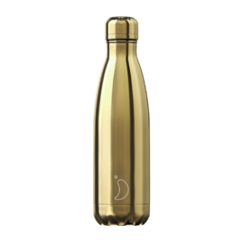 Chilly Bottle 500 ml GOLD - glanzend