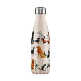 Chilly's Bottle 500 ML - DOGS - Emma Bridgewater