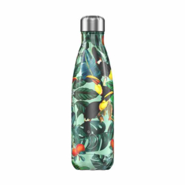 Chilly's Bottle 500 ML TROPICAL TUCAN