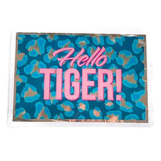Theekaart Hello Tiger